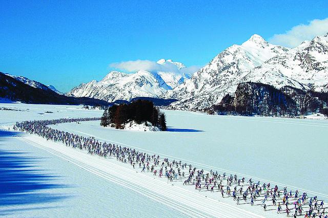St Mortitz Engadin, Skimarathon