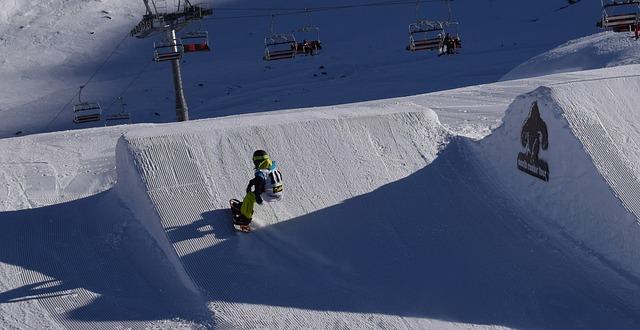 Snowboard St Moritz
