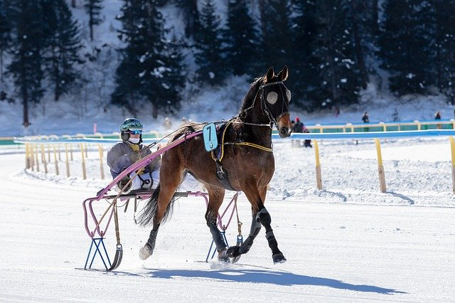 St Moritz winter sports