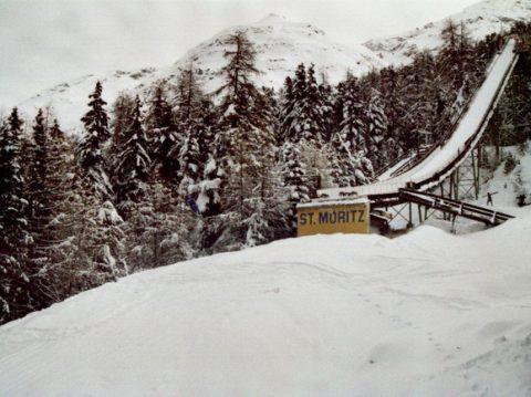 Olympic Ski Jump St Moritz